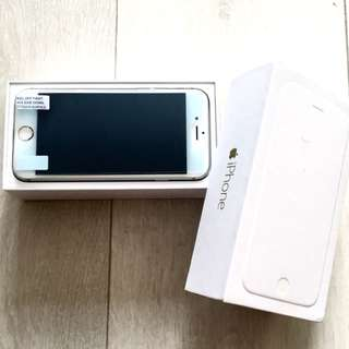 iPhone 6 Silver 64 GB (Bell) NEVER USED