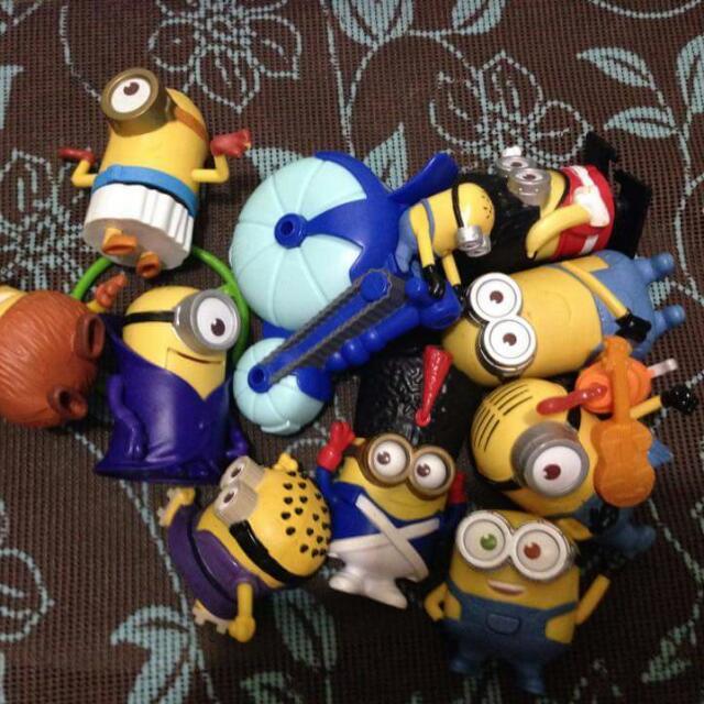 10pcs Mcdo Minions Collectible