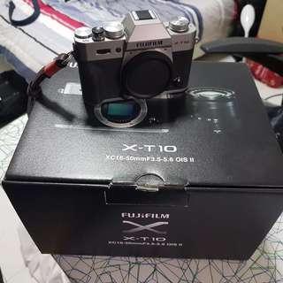 Fujifilm X-T10 Silver (Body only)