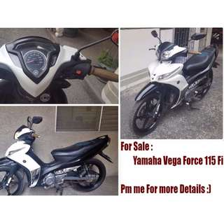 Yamaha Vega Force latest edition 115FI