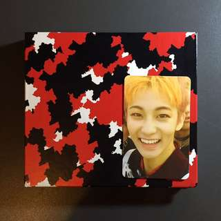 NCT 127 1st mini album firetruck w/ Mark pc