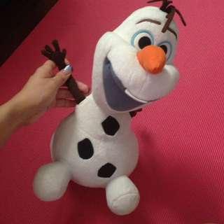 冰雪奇緣 雪寶娃娃