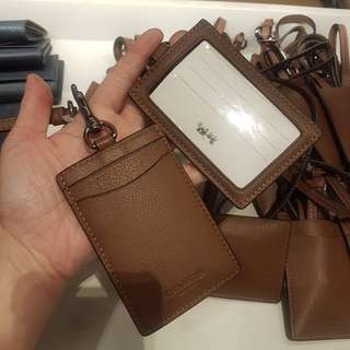 Coach Badge / Card Holder 掛頸 [代購]