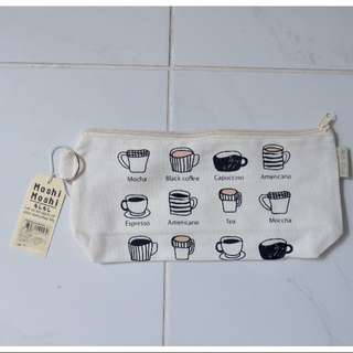 Coffee Zip Up Pouch