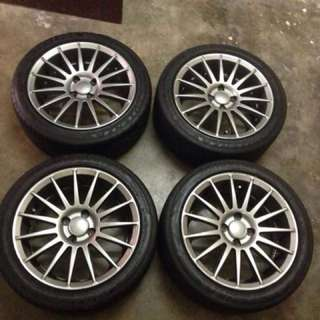 JRD rim 16 inch with tyre