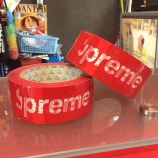 Supreme Tape Red