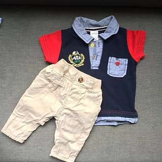 Early Days pants & Anakku tshirt