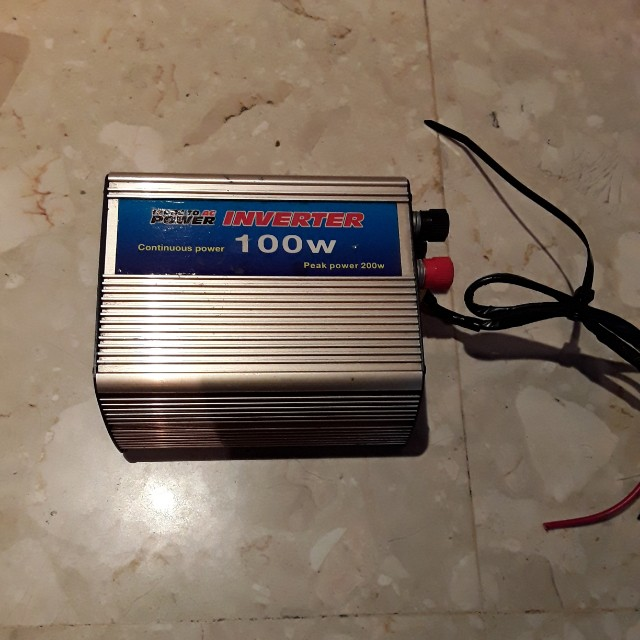Admirable 12V Dc To Ac Power Inverter Car Accessories On Carousell Wiring Cloud Tobiqorsaluggs Outletorg