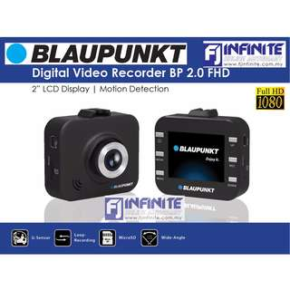 Blaupunkt Digital Video Recorder BP 2.0 FHD 2'' LCD Display Motion Detection