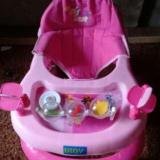 Baby girl walker