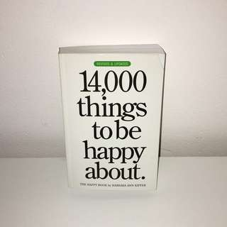 14000 things to be happy about