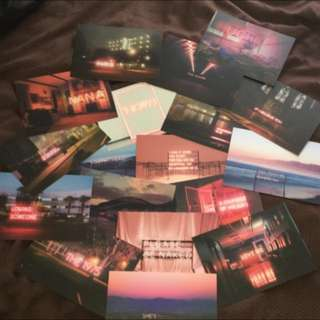 The 1975 Postcard Set