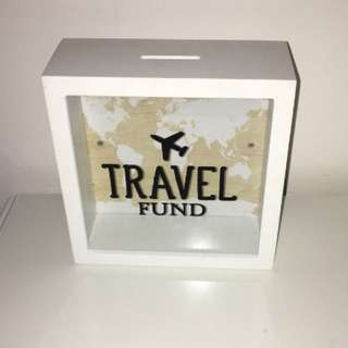 Travel Fund savings box