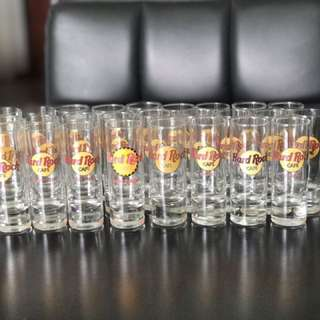 Hardrock Cafe Shot Glasses