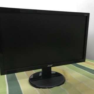 ACER LCD Monitor - K192HQL - STILL LIKE NEW