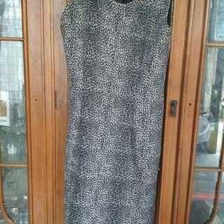 Dress lurik vintage