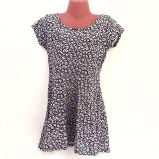 B&W Cotton On Floral Dress
