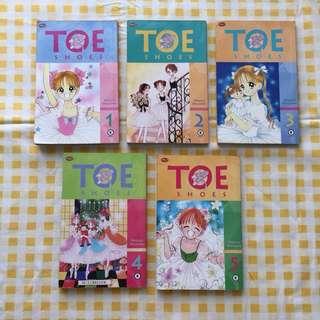 Toe Shoes by Megumi Mizusawa