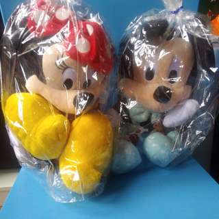 Mickey & Minnie Mouse Plushies