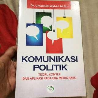 Buku Komunikasi politik