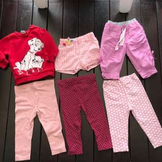 Girl Toddler Branded Clothes Bundle (Include Postage)