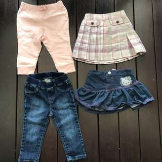 Girl Toddler Bundle Branded Clothes (Include Postage)