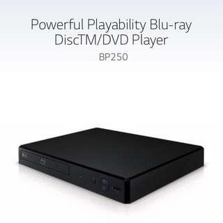 All-new LG Blu-ray Disc™/DVD Player BP250