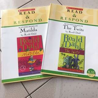 Read and respond Roald Dahl texts