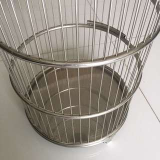 Customised Stainless steel bird cage
