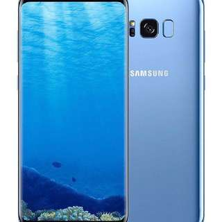 S8plus Coral Blue