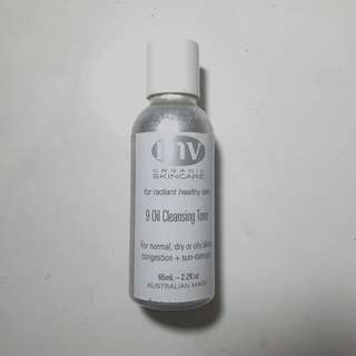 Final Sale! MV Organics 9 Oil Cleansing Tonic 50% Remaining
