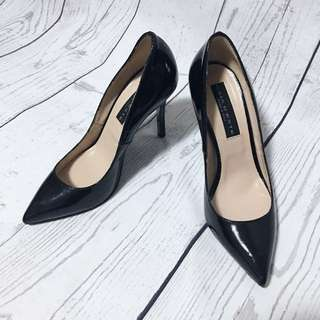 Patent Leather Shoes Size 38