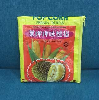 Upcycle Durian Snack Pouch