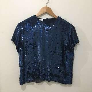Vintage sequin tshirt
