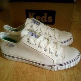 Keds White ❤