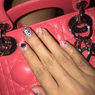 Mini Lady Dior Rose Pink