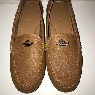 *reduced* Coach Loafers (Tan)