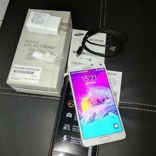 Samsung 三星 Note4 32g 白
