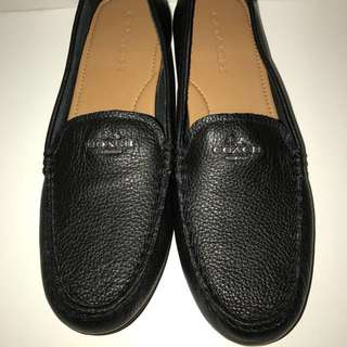 *reduced* Coach Loafers (Black)