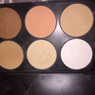 Contour palette, used a handful of times