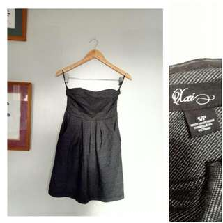 ❗️REPRICED! Gray Tube Party Dress