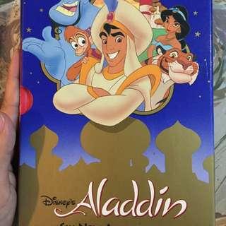 英文書-兒童故事書/阿拉丁神燈/Aladdin