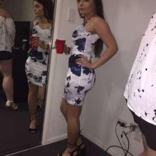 Floral dress worn once