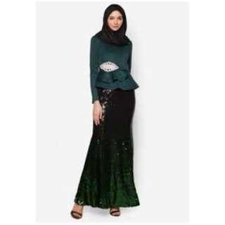 Zalia peplum and skirt - size S