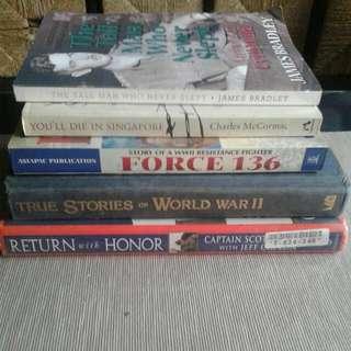 War Books (various)