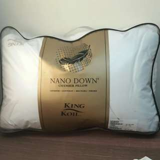 Bantal Tidur King Koil Bulu Angsa Nano Down FREE ONGKIR
