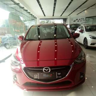 Mazda 2 R sedan 1.5l sky activ technology 6 speed automatic with paddle shifter
