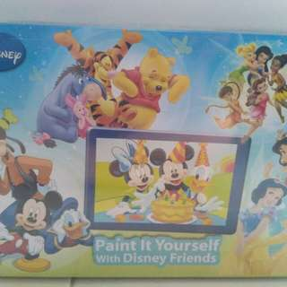 Disney Paint It Yourself with Disney Friend