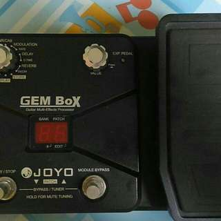 Guitar effects Gembox Joyo multi effects