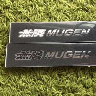Mugen emblem metal